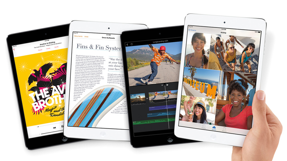 ipad mini pantalla retina