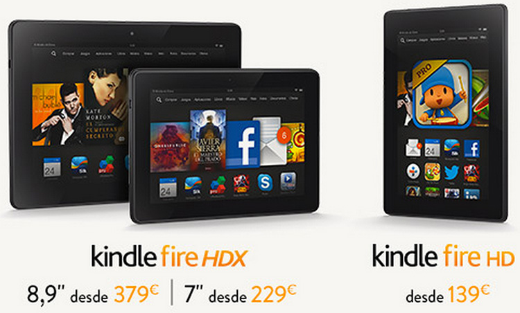 Kindle fire hd hdx